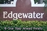 sign for Edgewater of Pembroke Falls